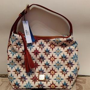Disney Dooney & Bourke Passport shoulder bag